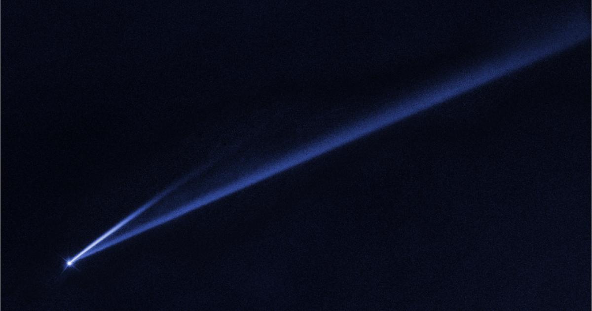 Forscher beobachten erstmals, wie Asteroid seine Farbe wechselt