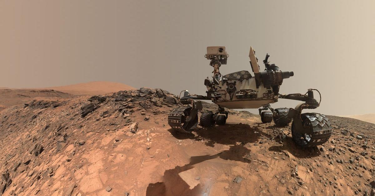 Curiosity Rover entdeckt uralte Oase auf dem Mars