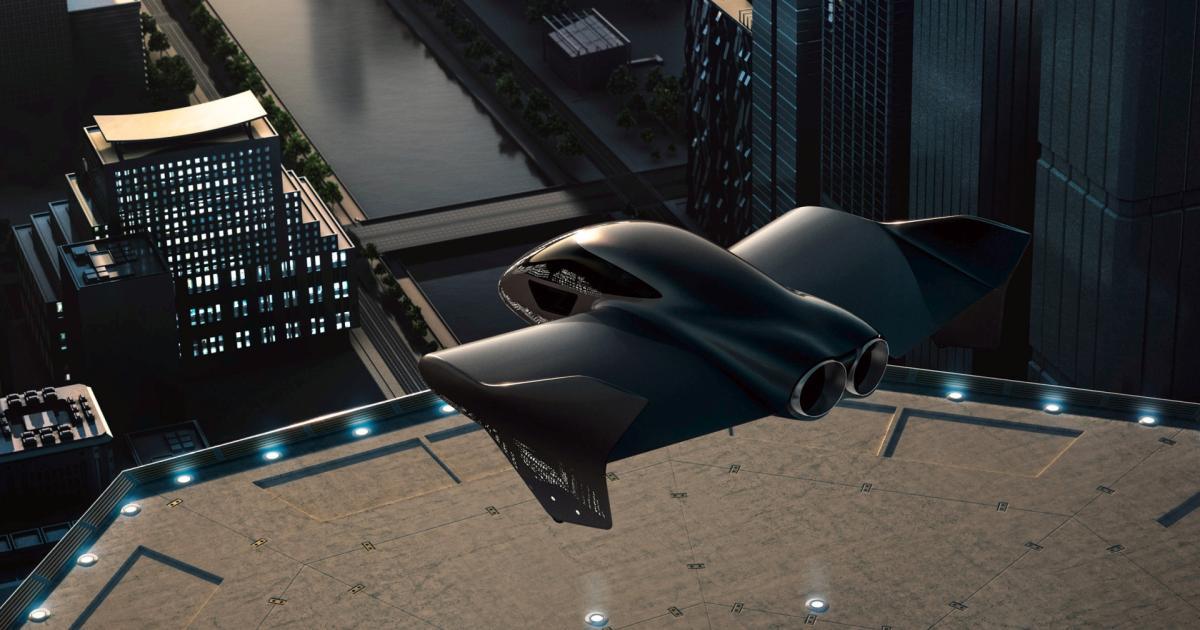 Porsche baut ein Lufttaxi mit Boeing