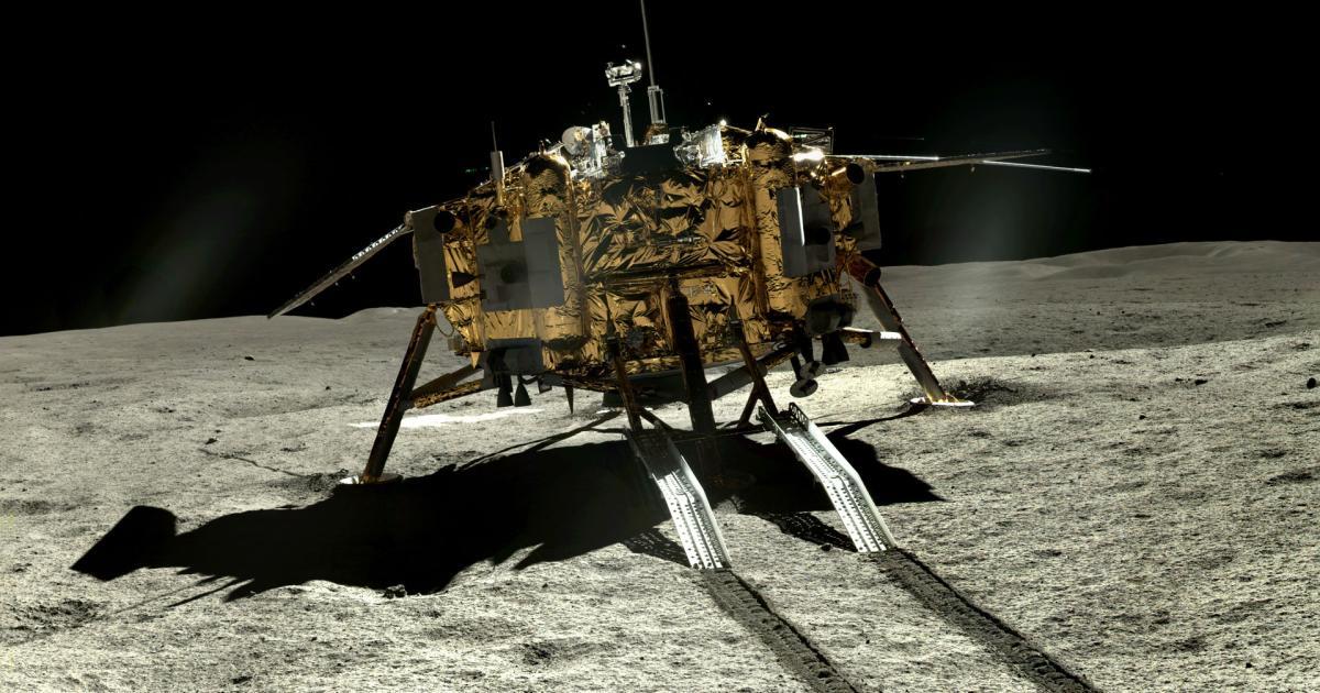 Chinas Rover findet merkwürdige Steine auf der Mond-Rückseite