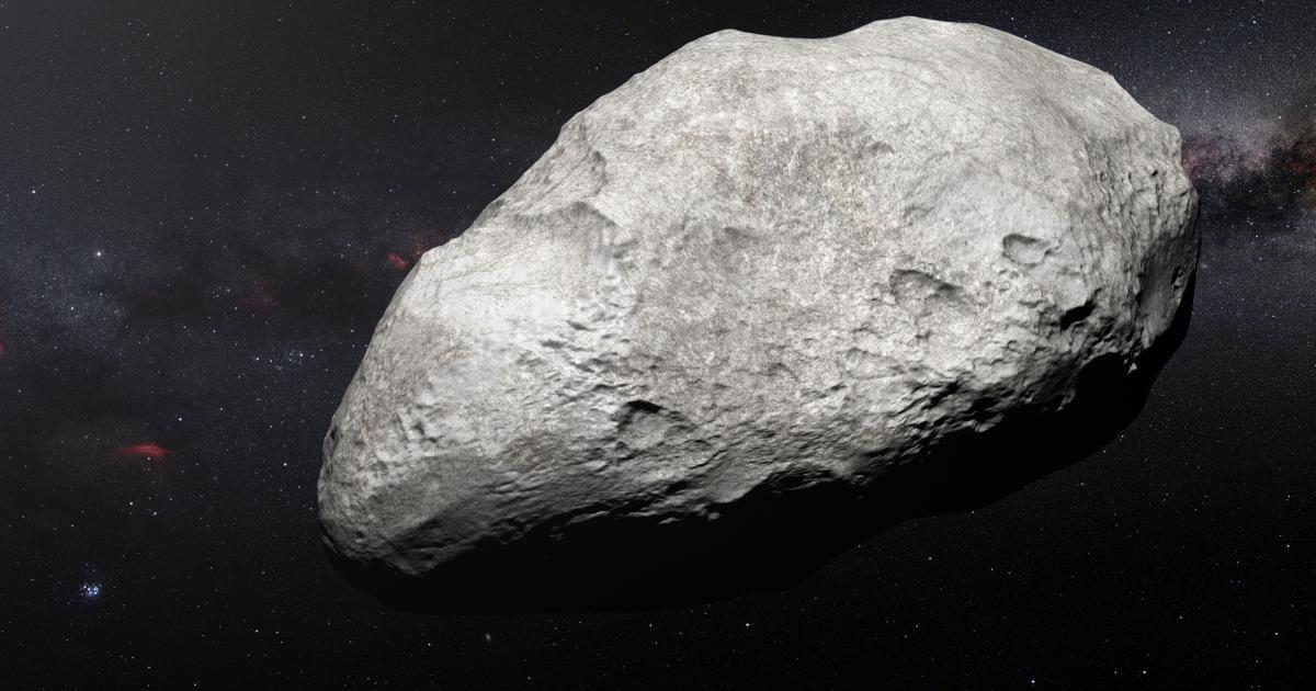 Riesiger Asteroid rast auf die Erde zu