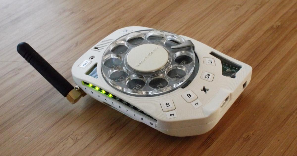 So baut man sich ein Handy mit Wählscheibe
