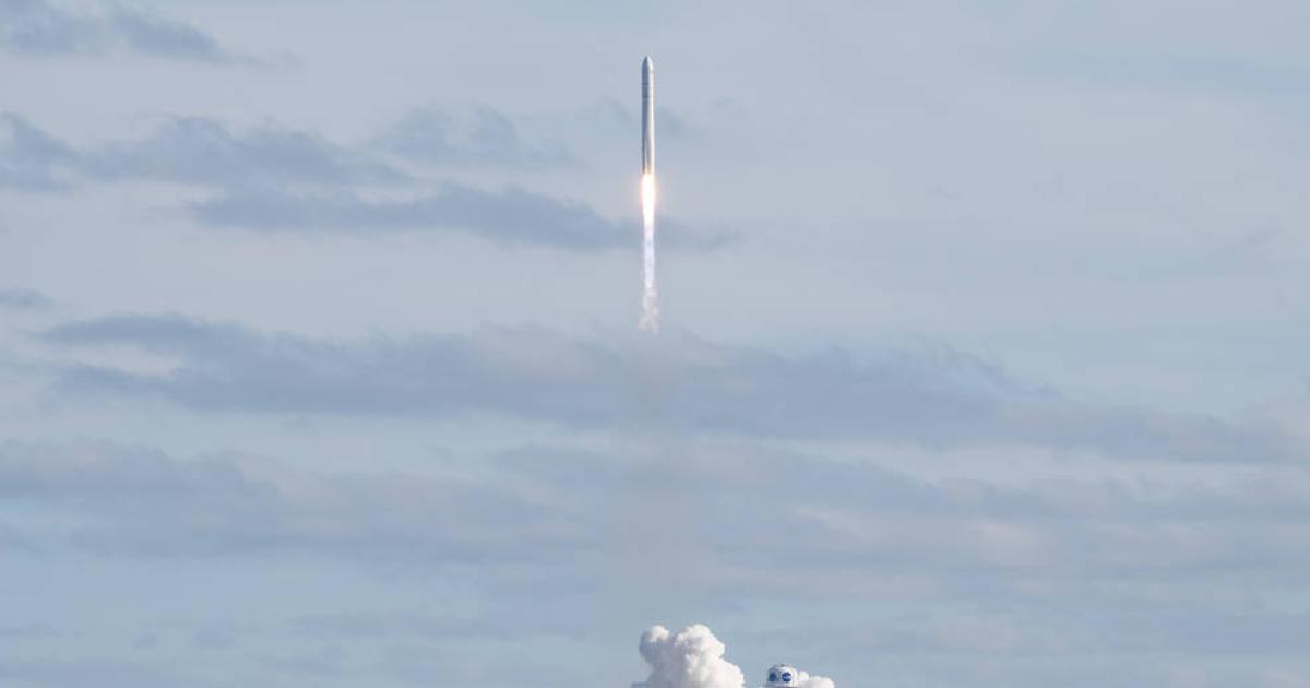 """""""Cygnus""""-Frachter zur ISS gestartet"""