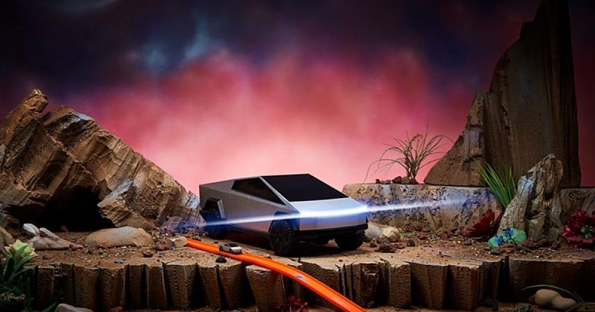 Hot Wheels verkauft ferngesteuerte Cybertrucks