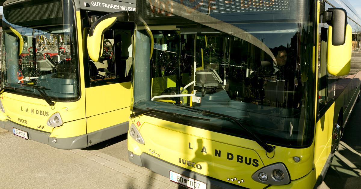 Erste Elektrobusse mit hoher Reichweite starten in Österreich
