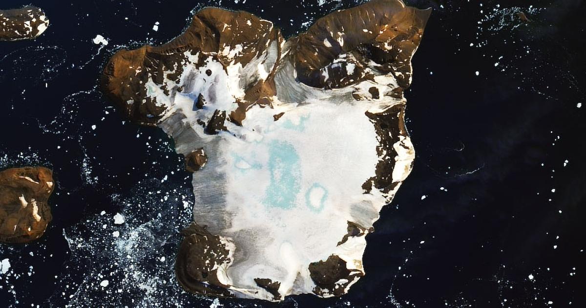 NASA: Satellitenbild zeigt, wie schnell Eis in der Antarktis schmilzt