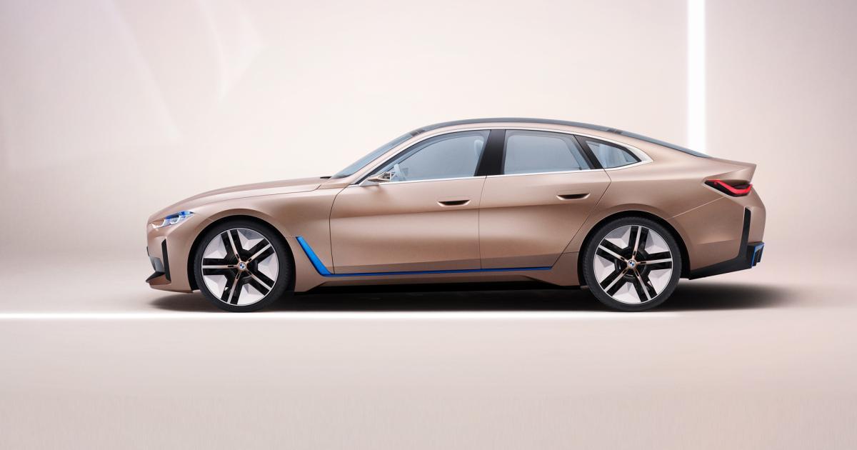 BMW stellt i4 mit 600 Kilometer Reichweite vor