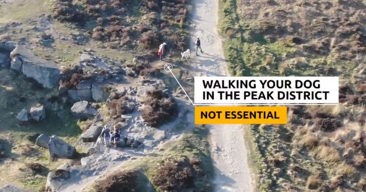 Polizei stellt Spaziergänger mit Drohnen-Video bloß