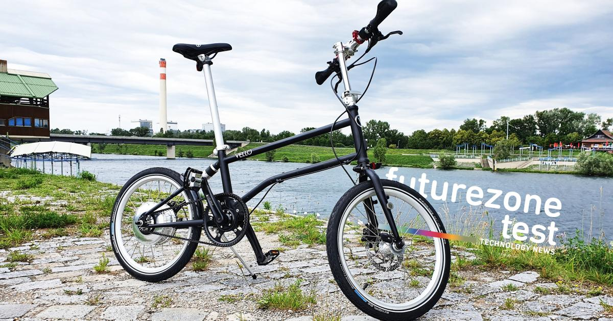 Vello Bike+ im Test: Faltbares E Bike lädt sich selbst