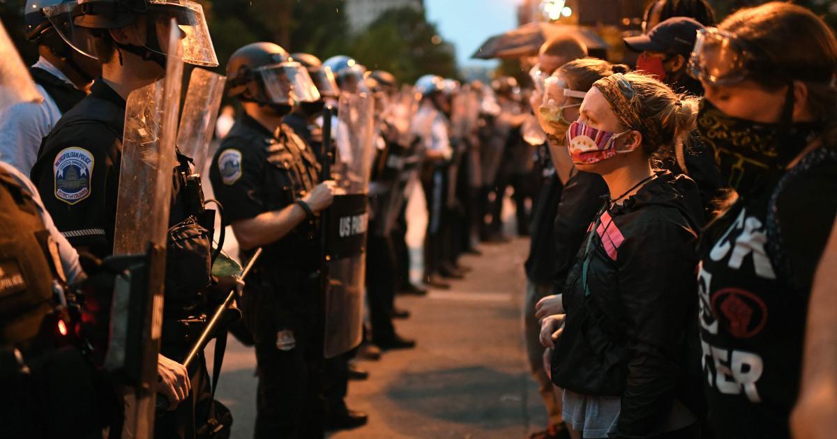 US-Heimatschutz warnte Polizei vor Demonstranten mit Masken