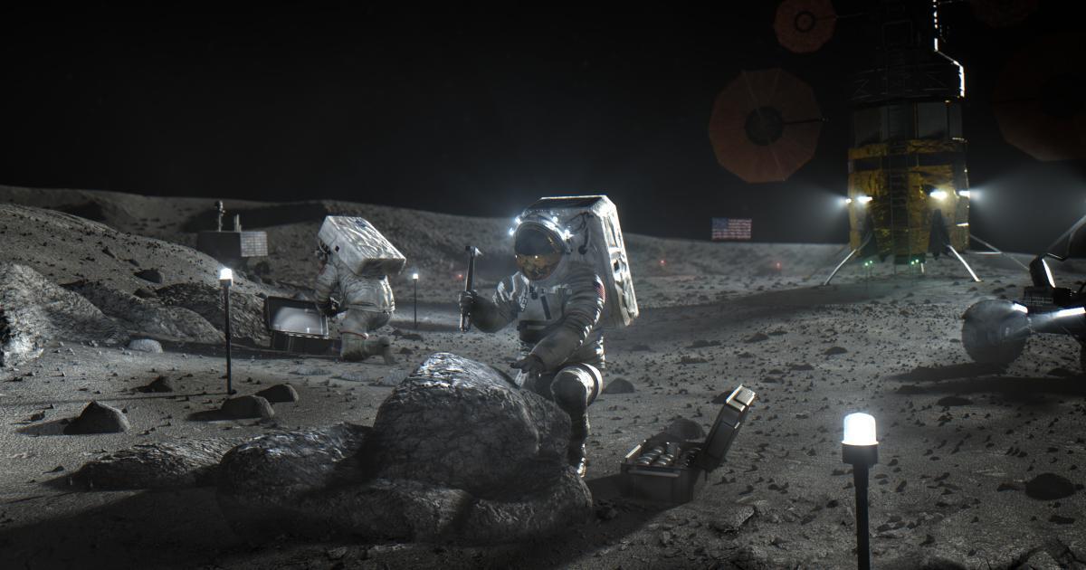 """NASA kündigt """"aufregende Entdeckung"""" zum Mond an"""