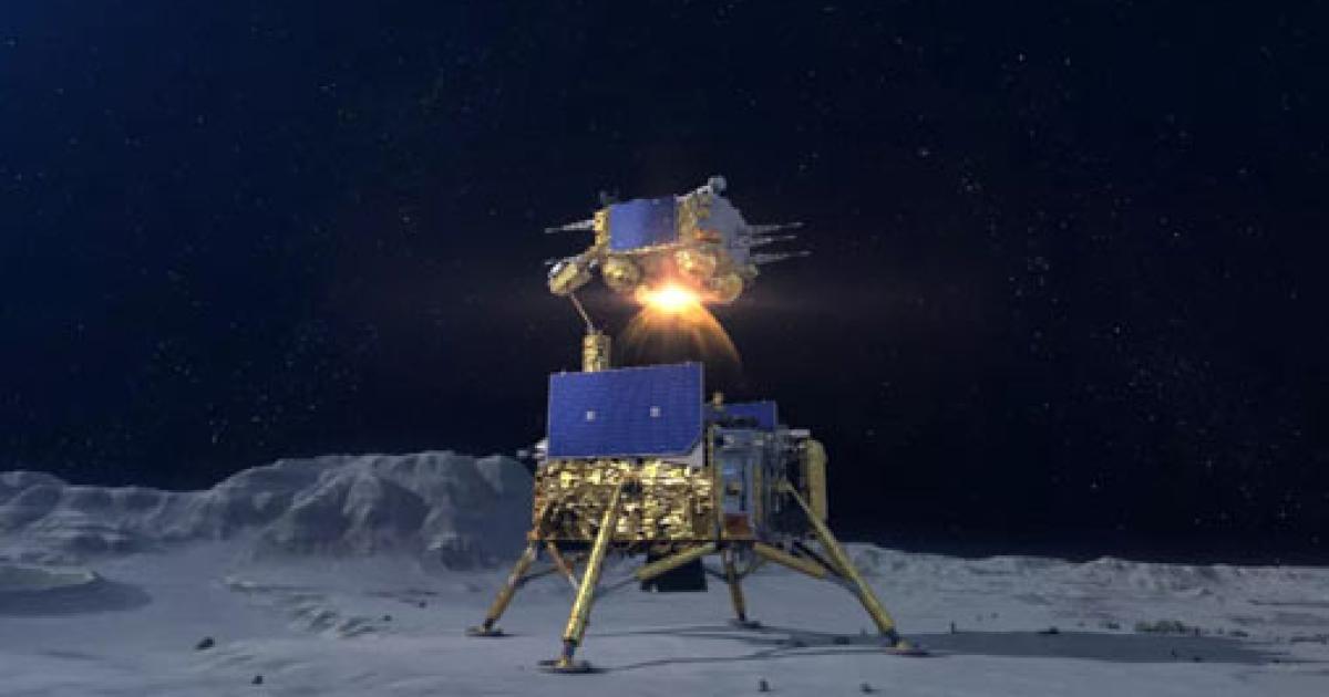 Chinas Sonde Chang'e 5 ist auf dem Mond gelandet