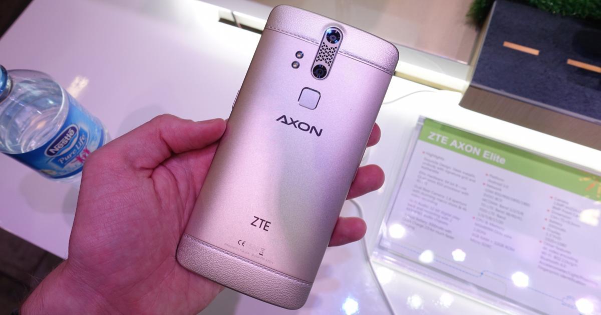 Zwei Kameras und Fingerprint: ZTE Axon Elite im Kurztest