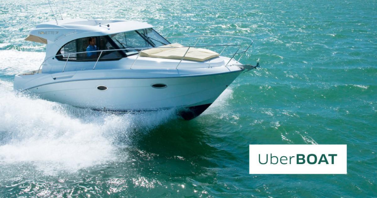 Uber bringt Kunden per Motorboot von Europa nach Asien