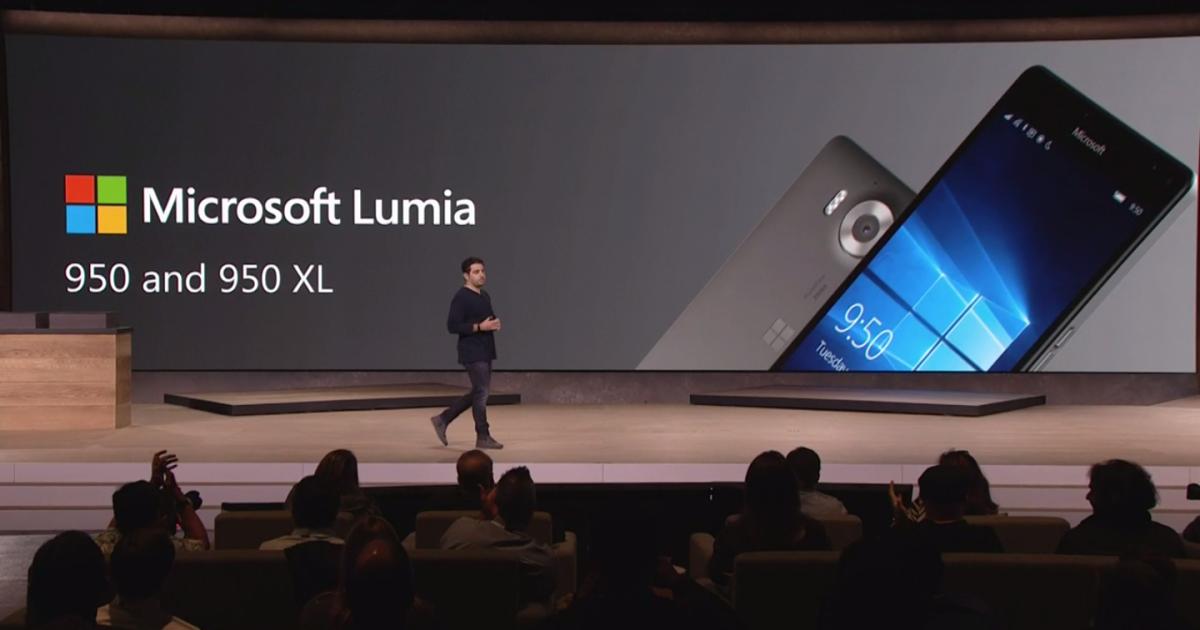 Microsoft präsentiert Lumia 950 und Lumia 950 XL