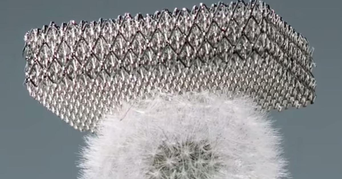 Boeing zeigt leichtestes Metall der Welt