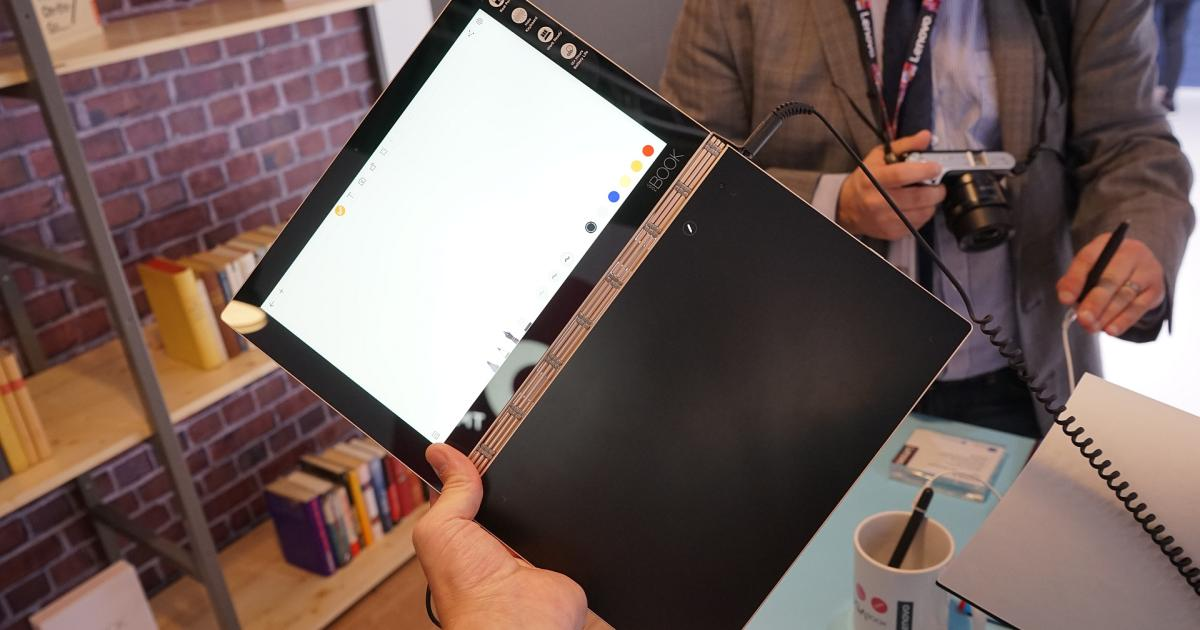 Touch statt Tastatur: Lenovo Yoga Book ausprobiert