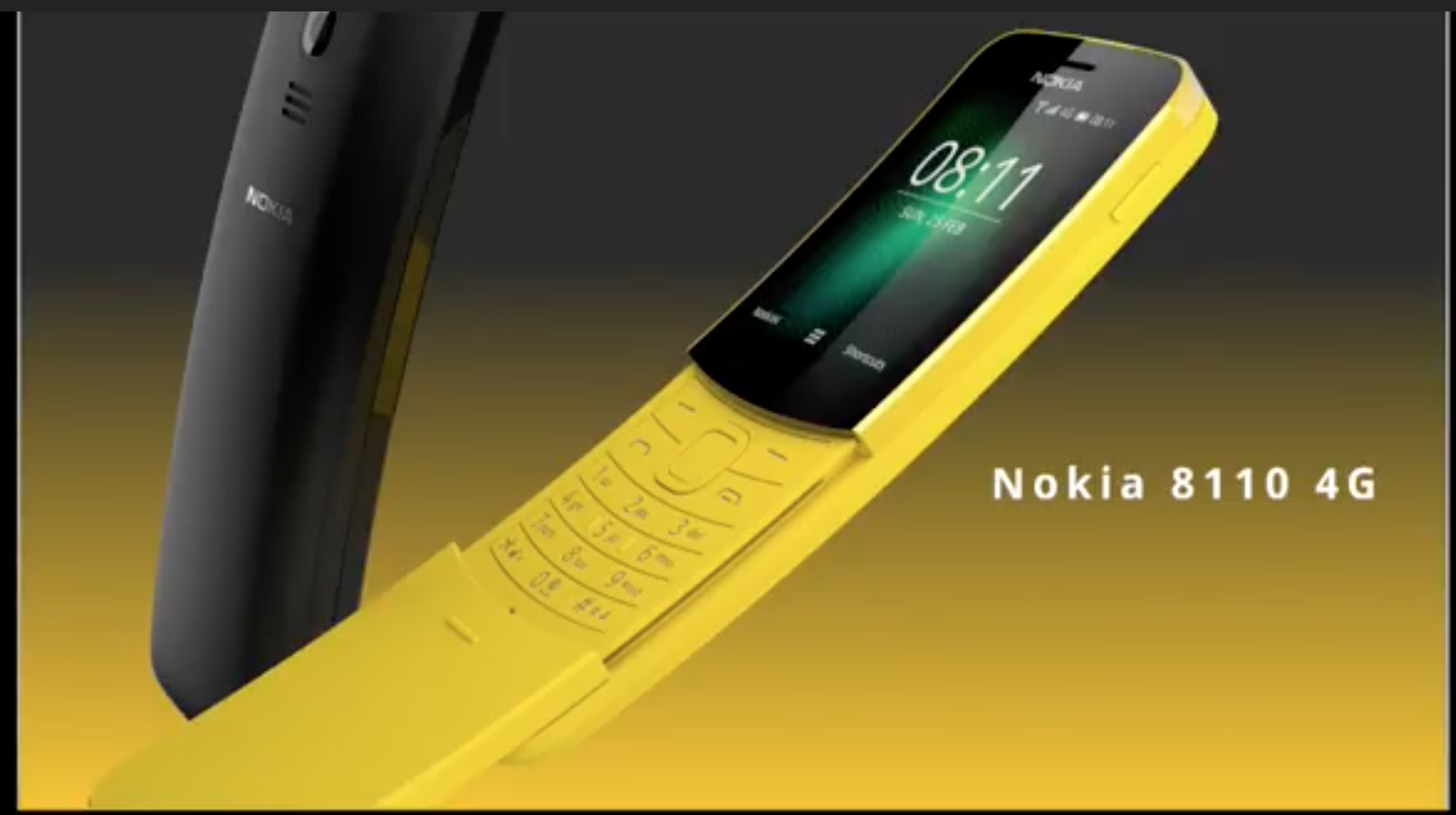 "Nokia bringt ""Bananen-Handy"" 8110 zurück"