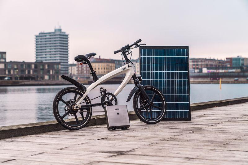 Dänisches Start-up plant E-Bike mit Photovoltaikladestation
