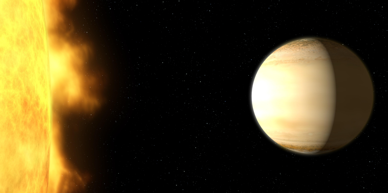 NASA findet Exoplaneten mit einer großen Menge Wasser