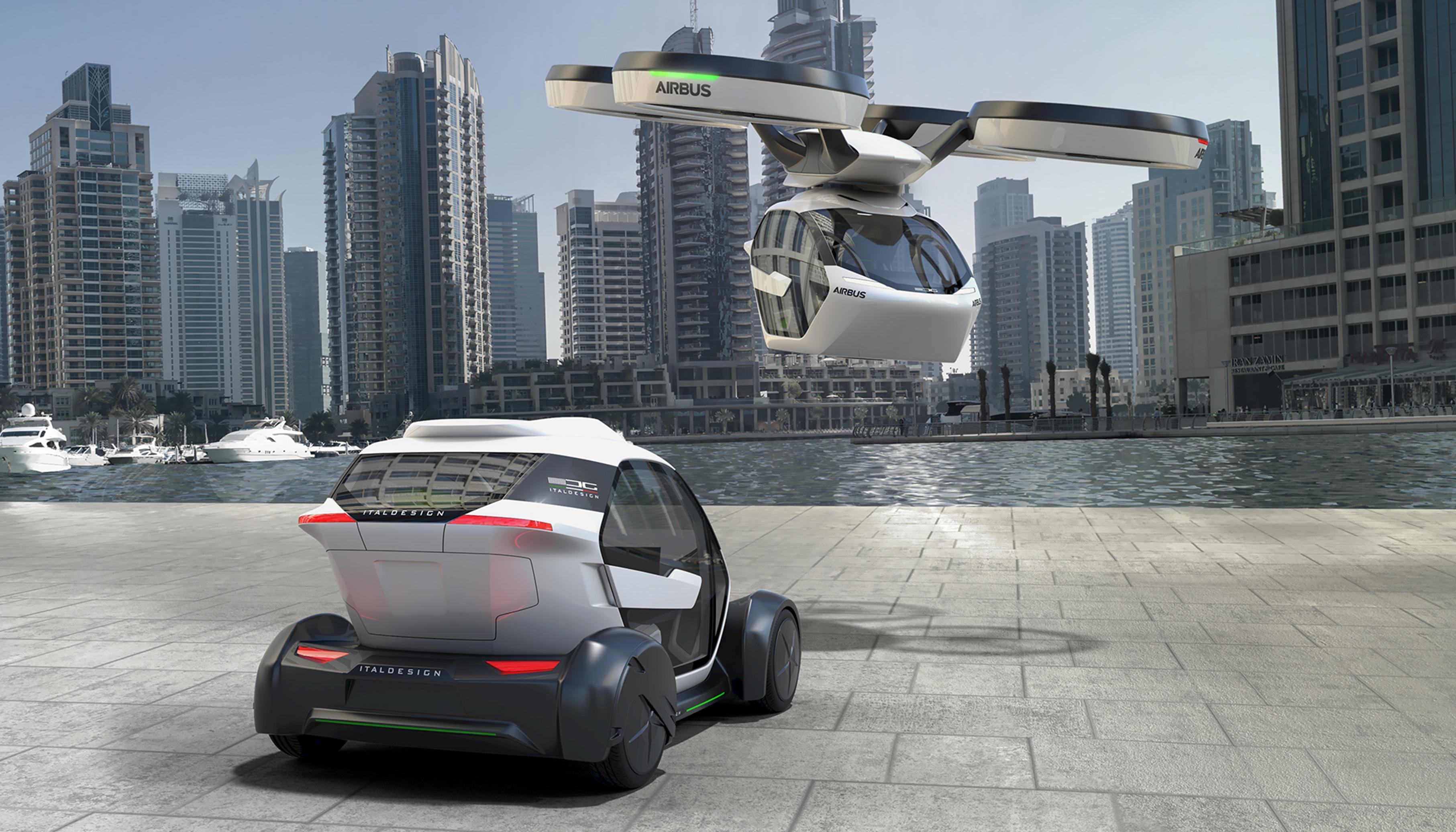 Porsche tüftelt an Flugtaxi-Konzept