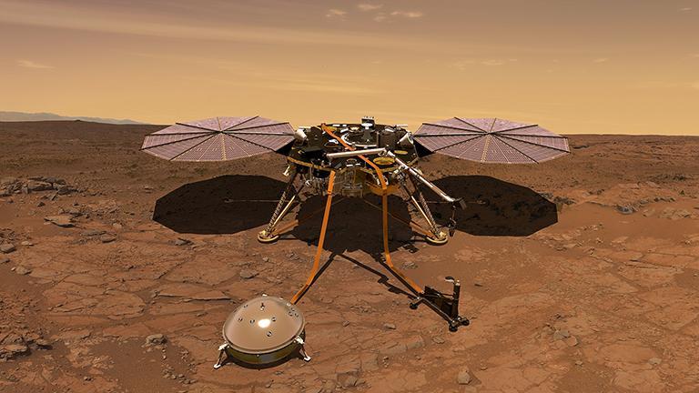 NASA will Marsinneres unter die Lupe nehmen