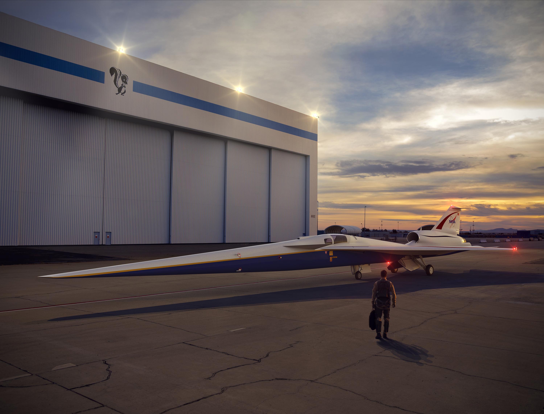 NASA und Lockheed Martin bauen leises Überschall-Flugzeug