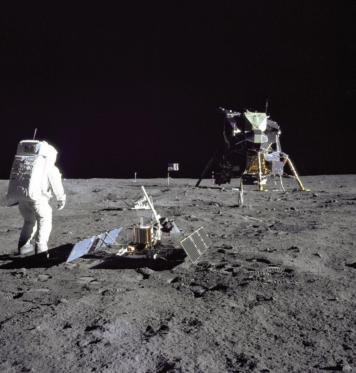 Die Mondlandung ist nach 50 Jahren wieder greifbar