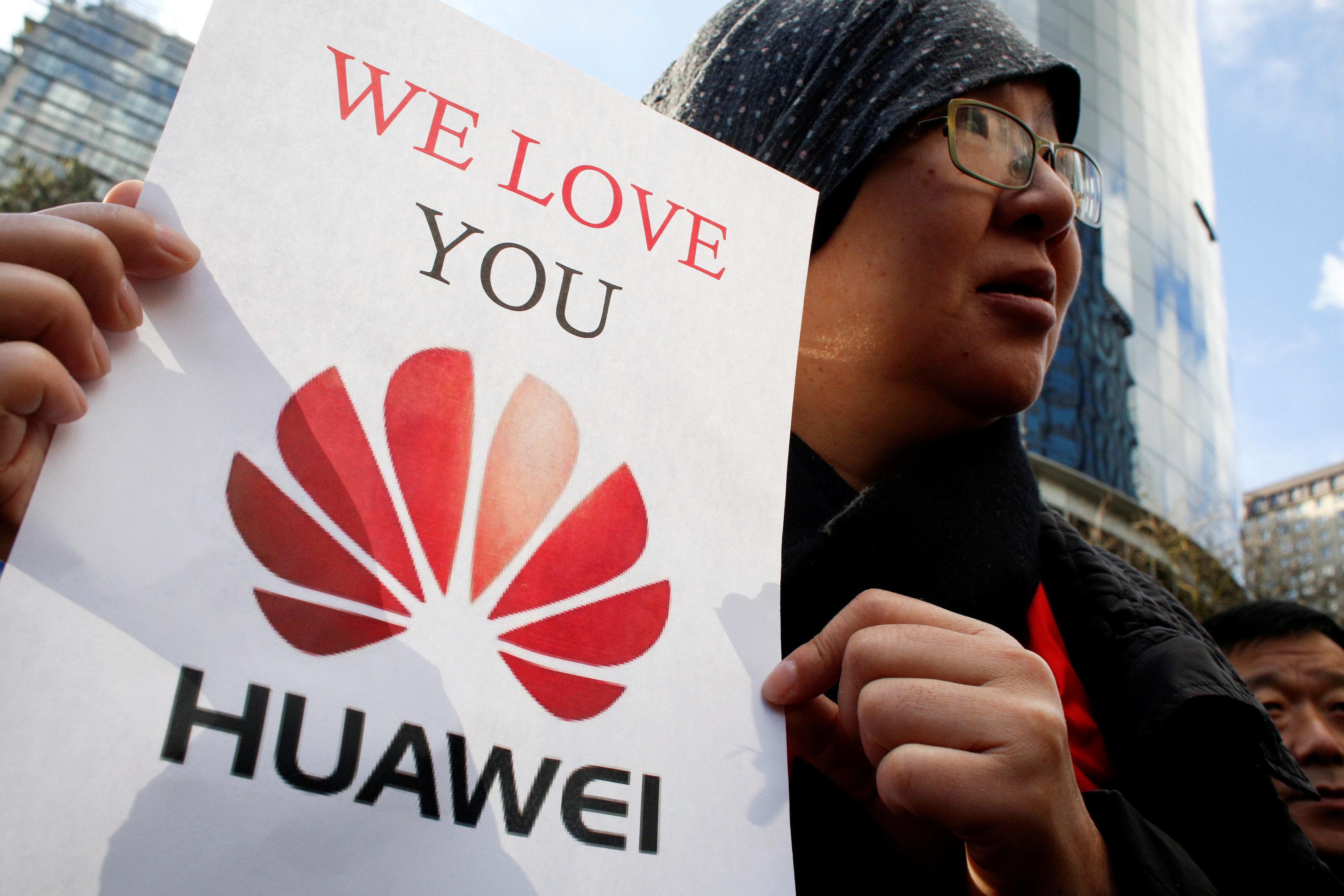 Huawei-Krise: Liebeserklärungen statt Panikverkäufe von Kunden