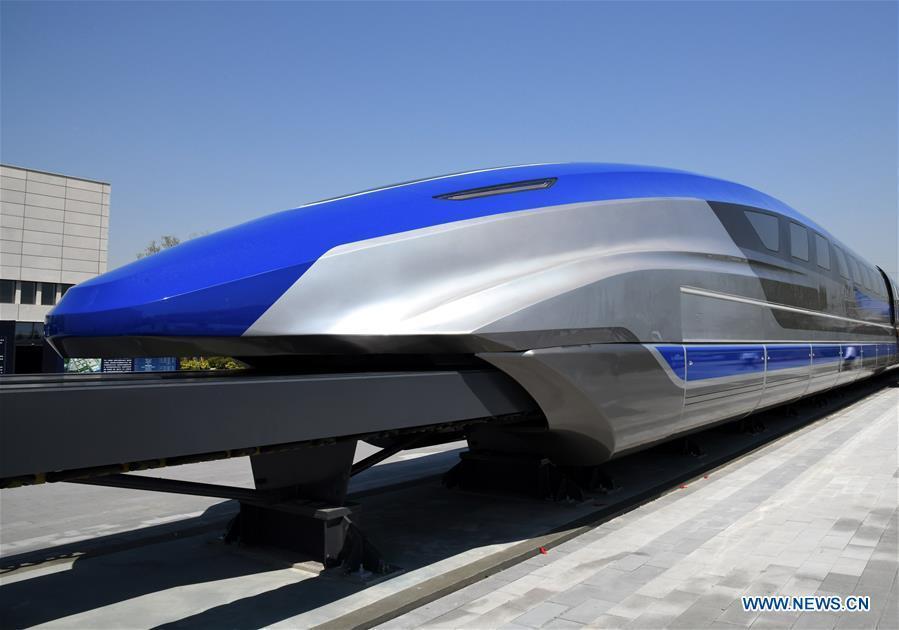 China bringt Zug mit 600km/h Höchstgeschwindigkeit
