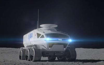 Toyota präsentiert selbstfahrenden Mond-Rover